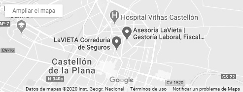 Google maps lavieta asesoria, gestoria lavieta, seguros lavieta, correduria lavieta, vieta, asesoria castellon, gestoria castellon, gestorias castellon