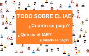 todo sobre el IAE, que es el iae, cuanto se paga iae, cuando se paga iae, autonomos, pymes, alta iae, modelo 037 iae, modelo 036 iae, impuesto sobre actividades economicas